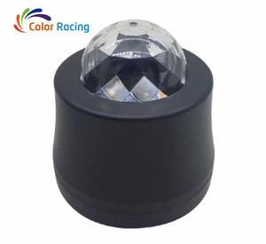 Best choice attractive car music dj lights, led rhythm strobe light with sound acticated disco ball