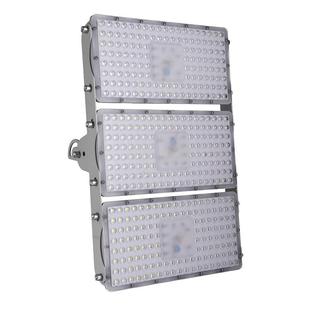 100/200/300/400W LED Flood Lights,Waterproof IP65 120 °Security Lights,Landscape Spotlights Outdoor Detachable, can be Assembled Wall Lighting for Garage, Garden, Lawn and Yard (Cold White, 300w)