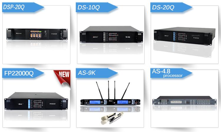 Aoyue made in china attrezzature dj 2 canali 1500 watt amplificatore di potenza esterno amplificatore di potenza