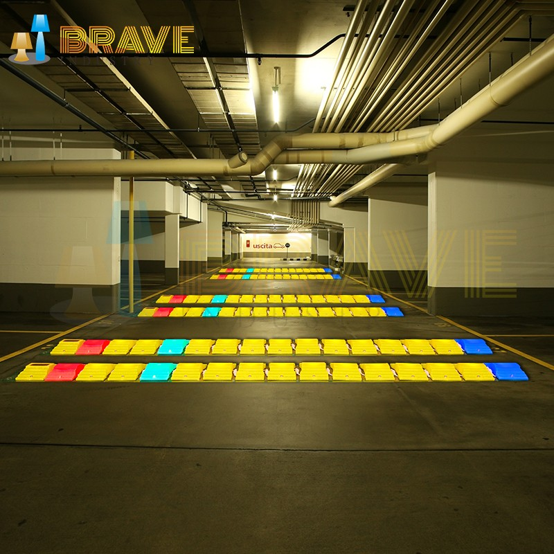 Outdoor Led Lighted Speed Bump Portable Speed Bump