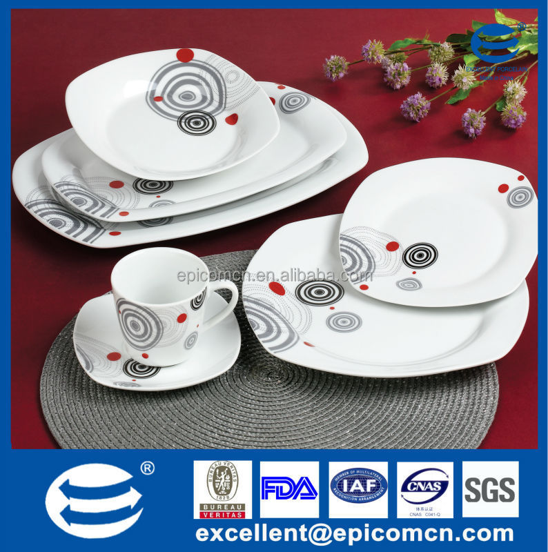 factory OEM 32pcs dinner set classic porcelain chinese tableware cheap dinnerware wholesale & Factory Oem 32pcs Dinner Set Classic Porcelain Chinese Tableware ...