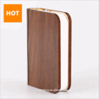Wooden Folding Led Book Light Rechargeable Lumio Book Lamp Led Reading