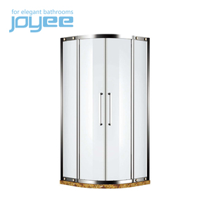 J-LB4014 round black stone tray shower room/shower cabin/shower cabinet