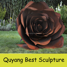 Stainless Steel Rose Sculpture Suppliers And Manufacturers At Alibaba