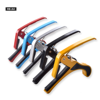 Wholesale cheap metal colorful guitar capo used by string musical instruments