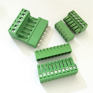 3.5/3.81mm Pitch 300V 8A PCB Screw Terminal Block Pluggable Terminal Block 2 3 4 5 6 7 8 9 10 12 Pin
