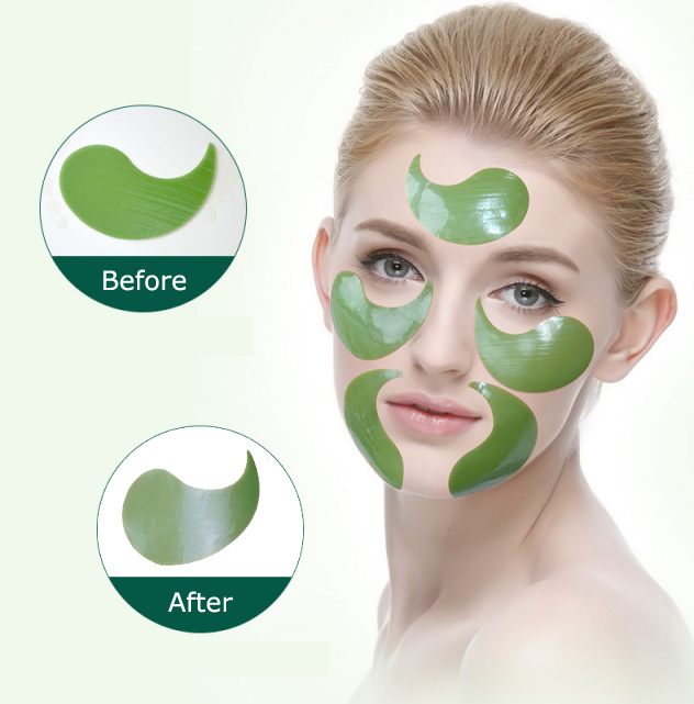 Oem hydro gel remove eye pouch fade dark circles hydrogel under eye patch patches for eyes