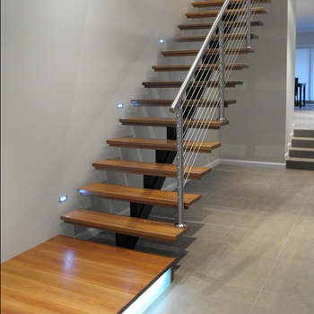 Apartment Staircases Staircase Wooden Diy Installation Stairs