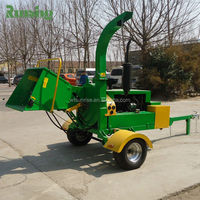 Best Mobile Wood Chipper, Industrial Wood Shredder Chipper, Portable Wood Chipper Shredder