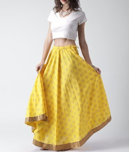 adc2e5f9e7 China Yellow Maxi Skirt, China Yellow Maxi Skirt Manufacturers and  Suppliers on Alibaba.com