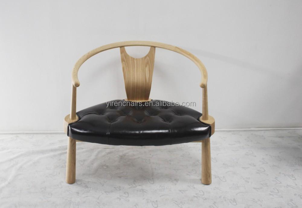 woonkamer meubels massief houten poten met lederen zetel stoelen