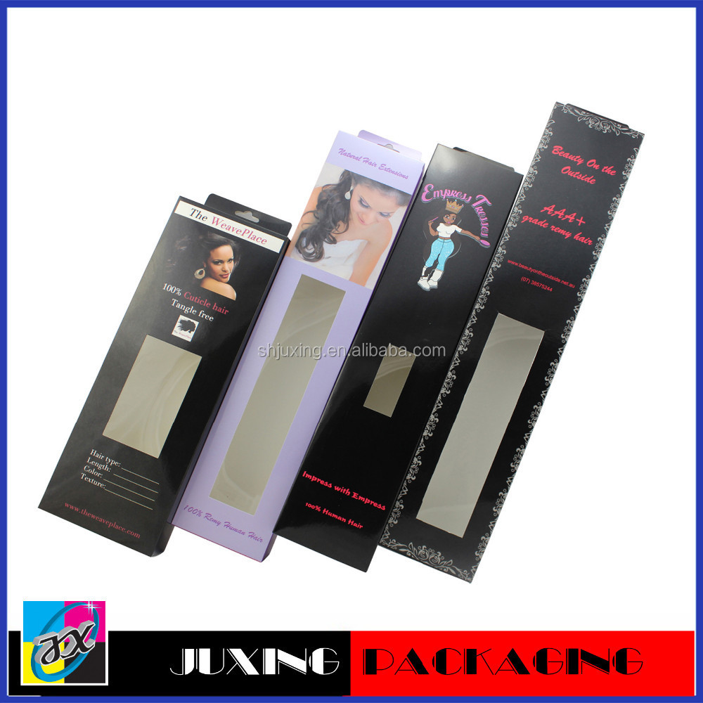 Hot Sale Exquisite Packaging For Hair Extensions