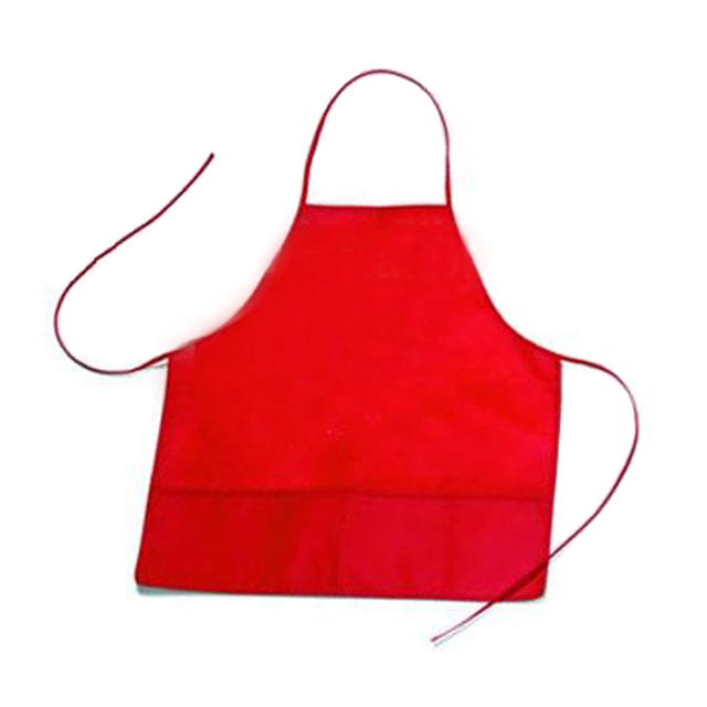 Promotional Non woven poly adult long bib apron