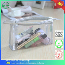 Dongguan cheap document/pen/cloth/underwear/cosmetic PVC ziplock bag