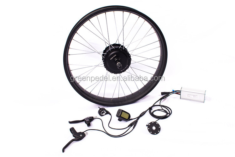 Greenpedel 4 0inch Fat Tire Wheel Motor 48v 500w Electric Bicycle
