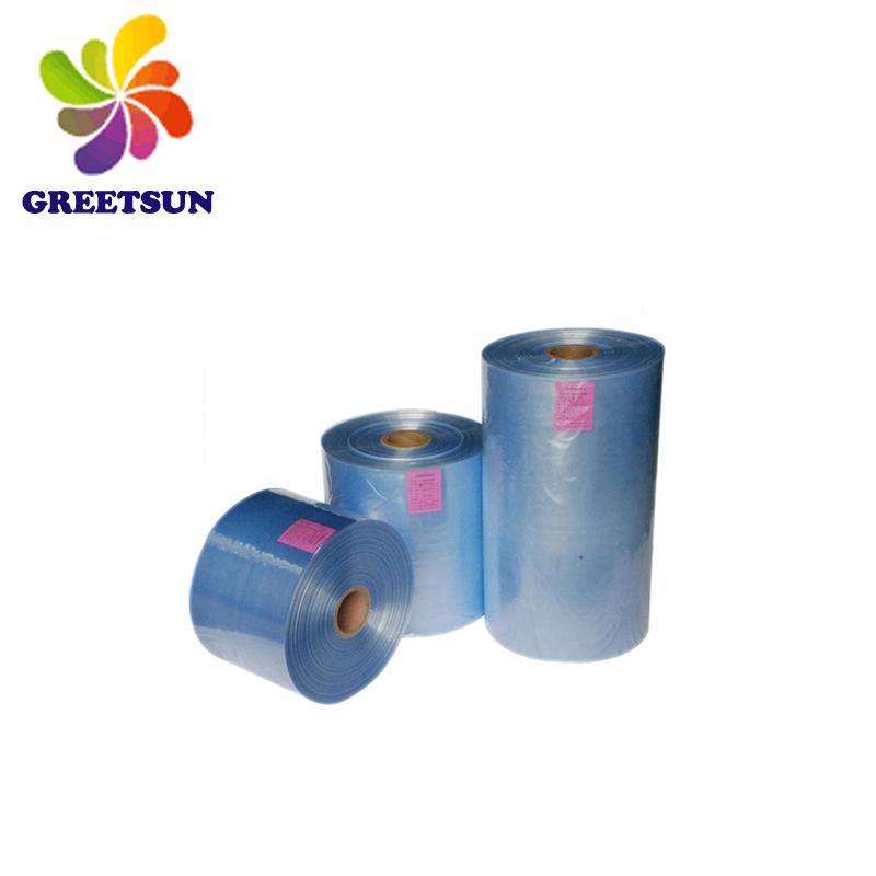 ПВХ/ПЭТ термоусадочная пленка для печати термоусадочных этикеток, пластиковая упаковочная пленка