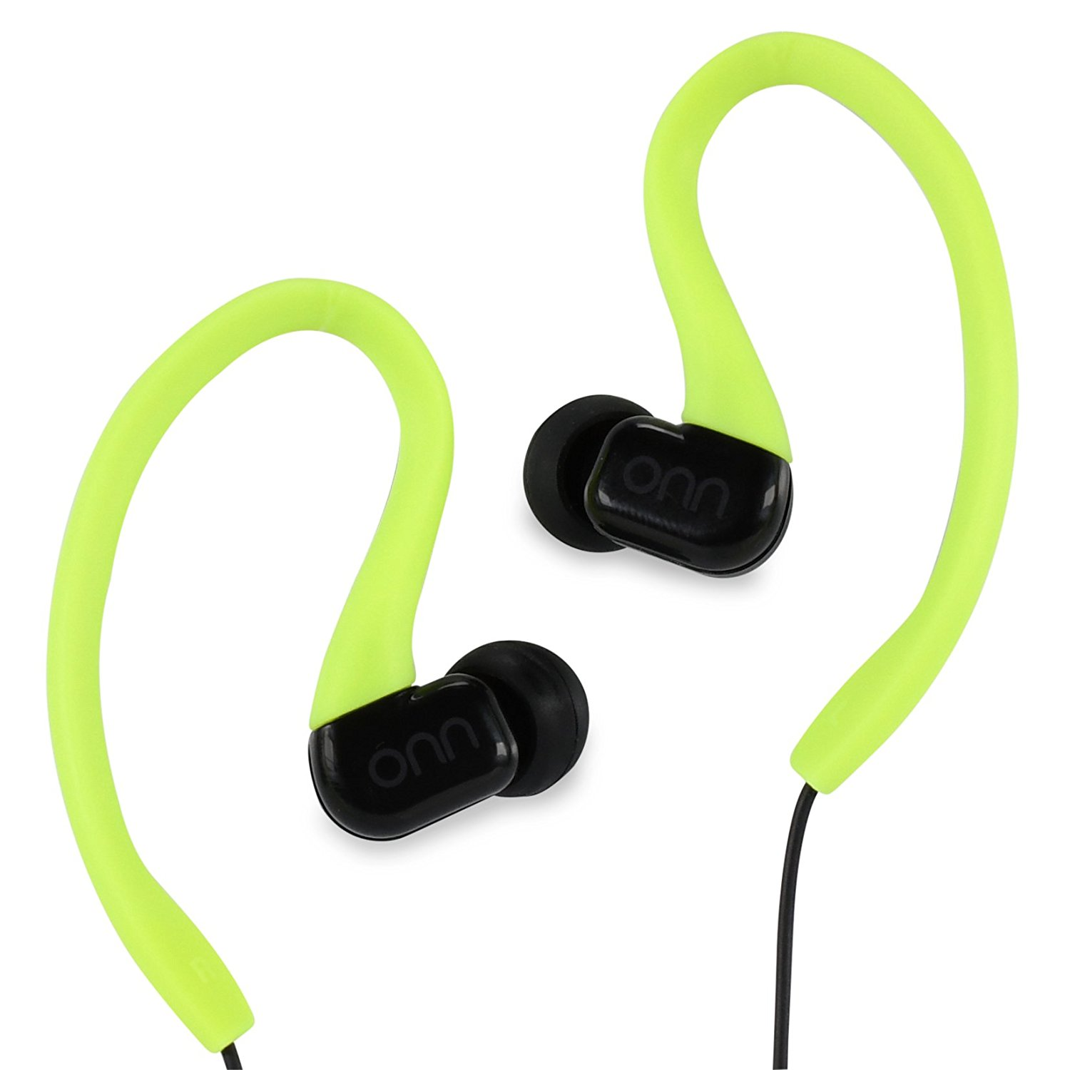 c3d30be7ceb Get Quotations · ONN Outdoor Activity Style Sports Soft Loop Hanger  Vertical In-Ear Clips Earbud Headphones Earbuds