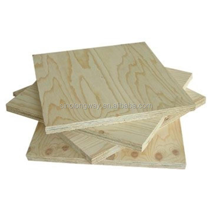 china factory melamine glue pine faced plywood