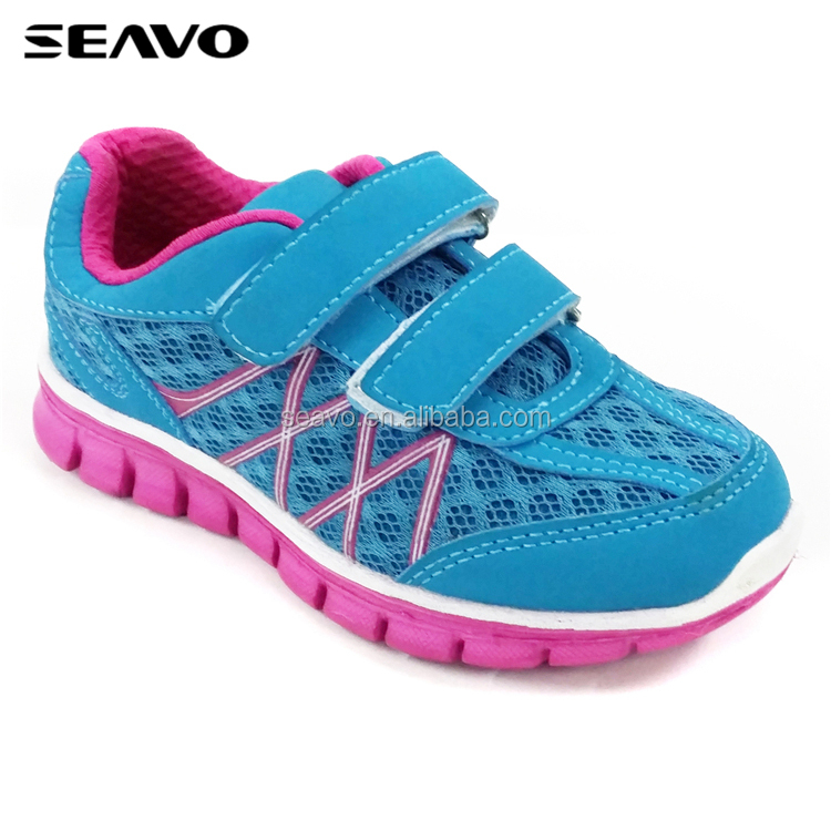 SEAVO SS18 fashion footwear cemented running and durable sports shoe for girls