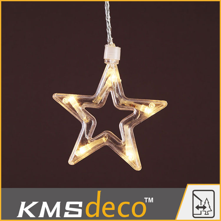 Factory Popular good quality led decoration light sets curtain lights chic star lights