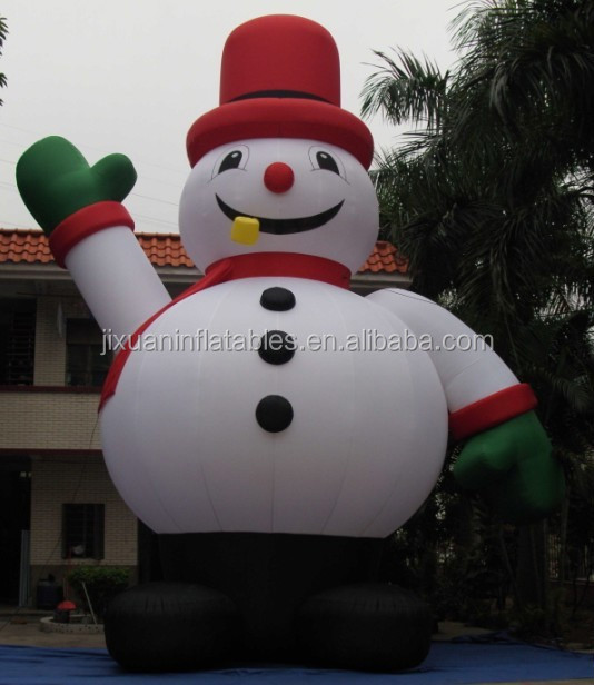 Inflatable Abominable Snowman Christmas Decoration - Buy ...