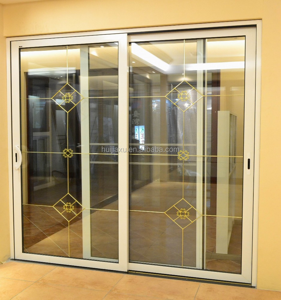 De servicio pesado de aluminio balc n puerta corredera de for Puertas balcon de aluminio precios en rosario