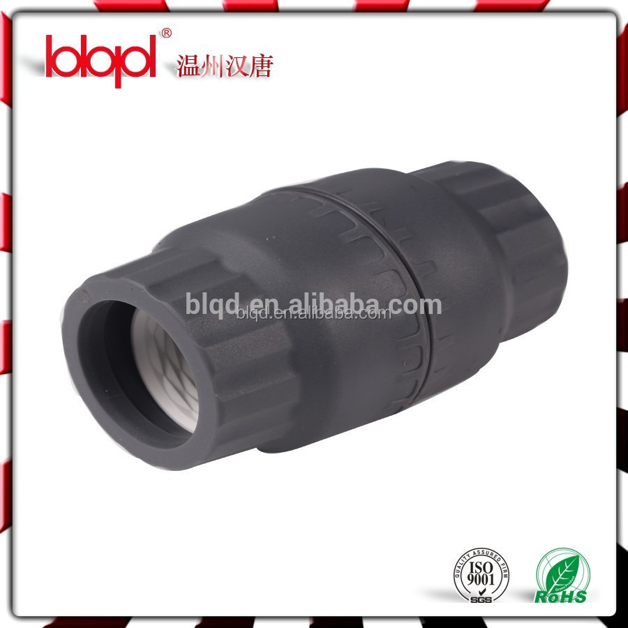 PP compression pipe fittings 32/26 mm, air pipe fittings,Straight Compression Connectors