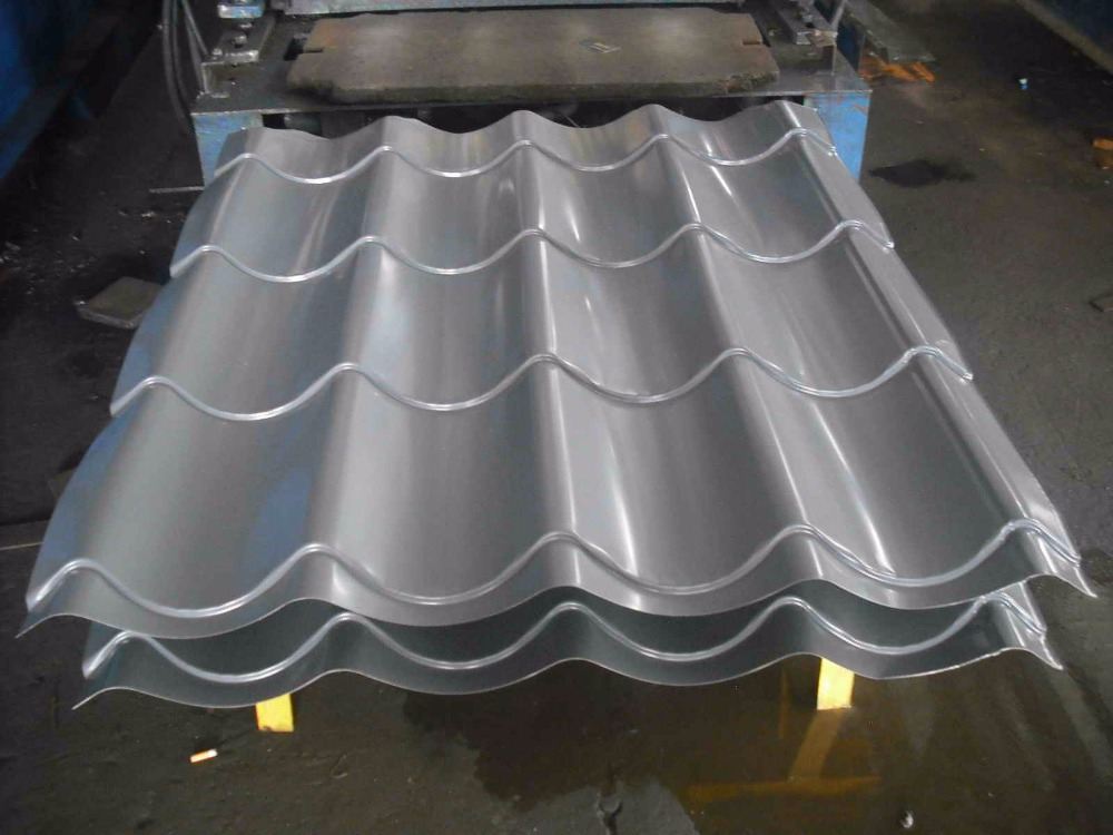 steel seller prepainted galvalume curve corrugated sheet steel for roofing made in China