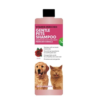 Wholesale oem private label natural organic grooming pet shampoo