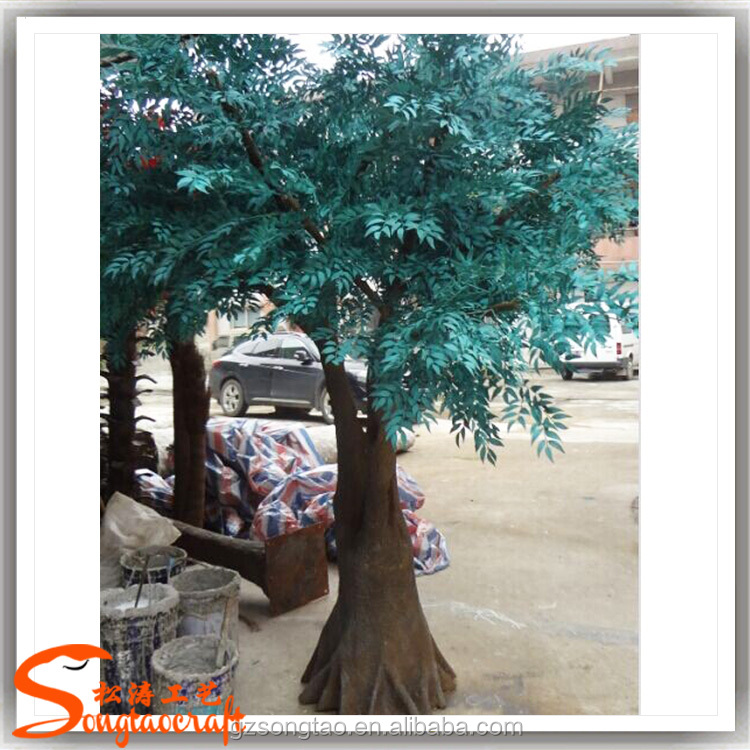 Fake Plastic olive tree Large Outdoor Artificial Trees For Garden decoration