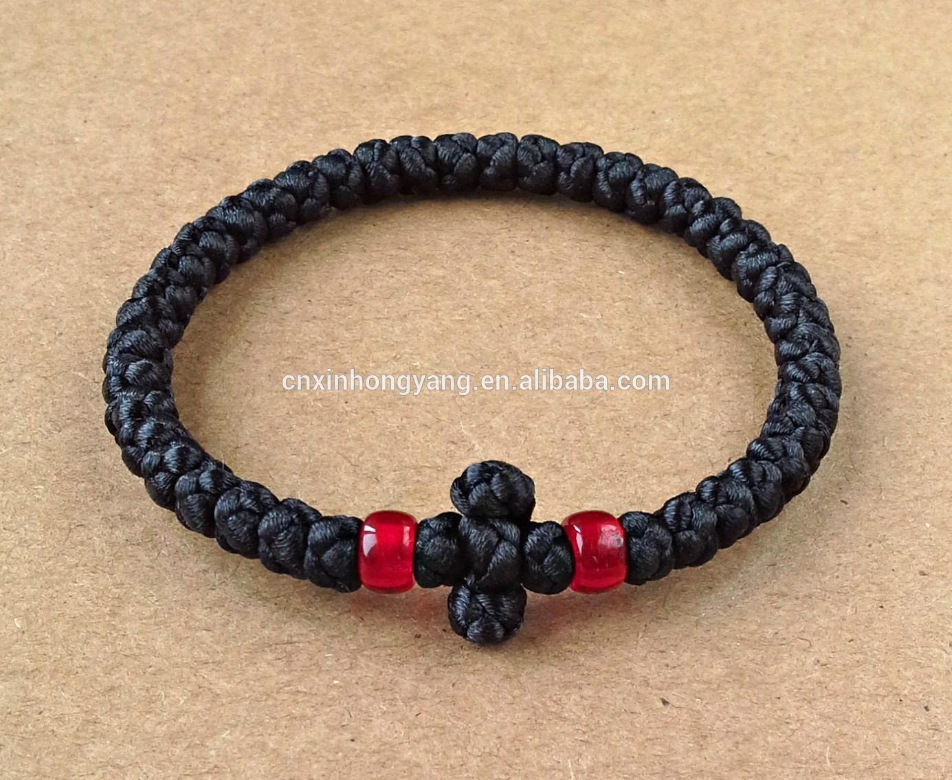 Orthodox Knot Prayer Ropes,Handmade Komboskini Necklace,Religious Jewelry  Gift,Wool/waxed Cord Christian Bracelet - Buy Waxed Cotton Cord