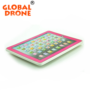 global drone Educational Toys For Children in Russian language learning for Kids ABC yPad Russian toy with Light