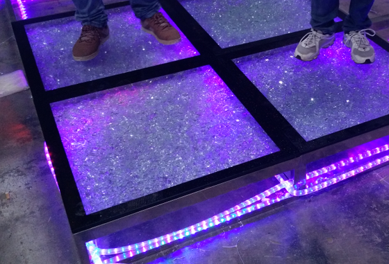 Used Stainless Steel Tables >> Color Changing Glass Dance Floor/ Portable/ Light Up Dance ...