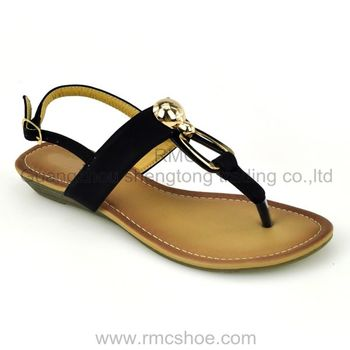 women sandal china cheap imported ladies shoes