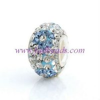 austrian crystal pave beads