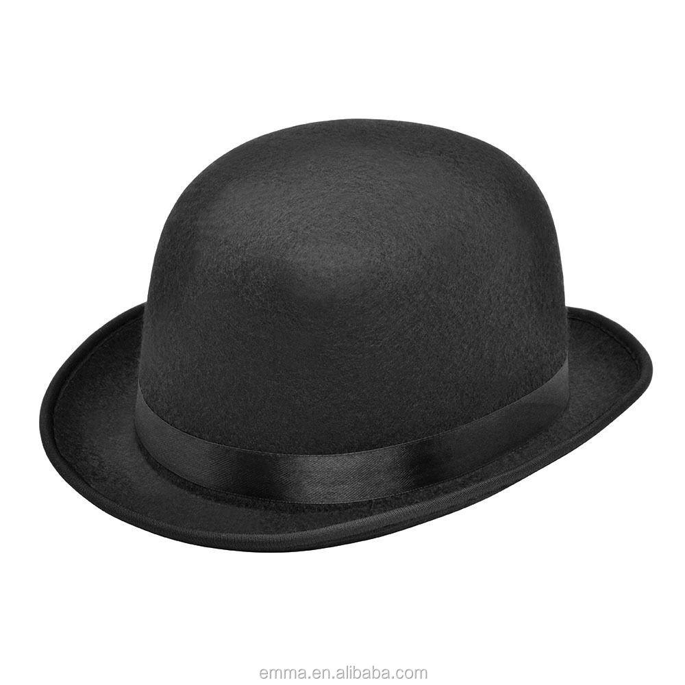 ADULTS DELUXE GANGSTER HAT 1920S FANCY DRESS COSTUME TRILBY FEDORA ITALIAN MAFIA