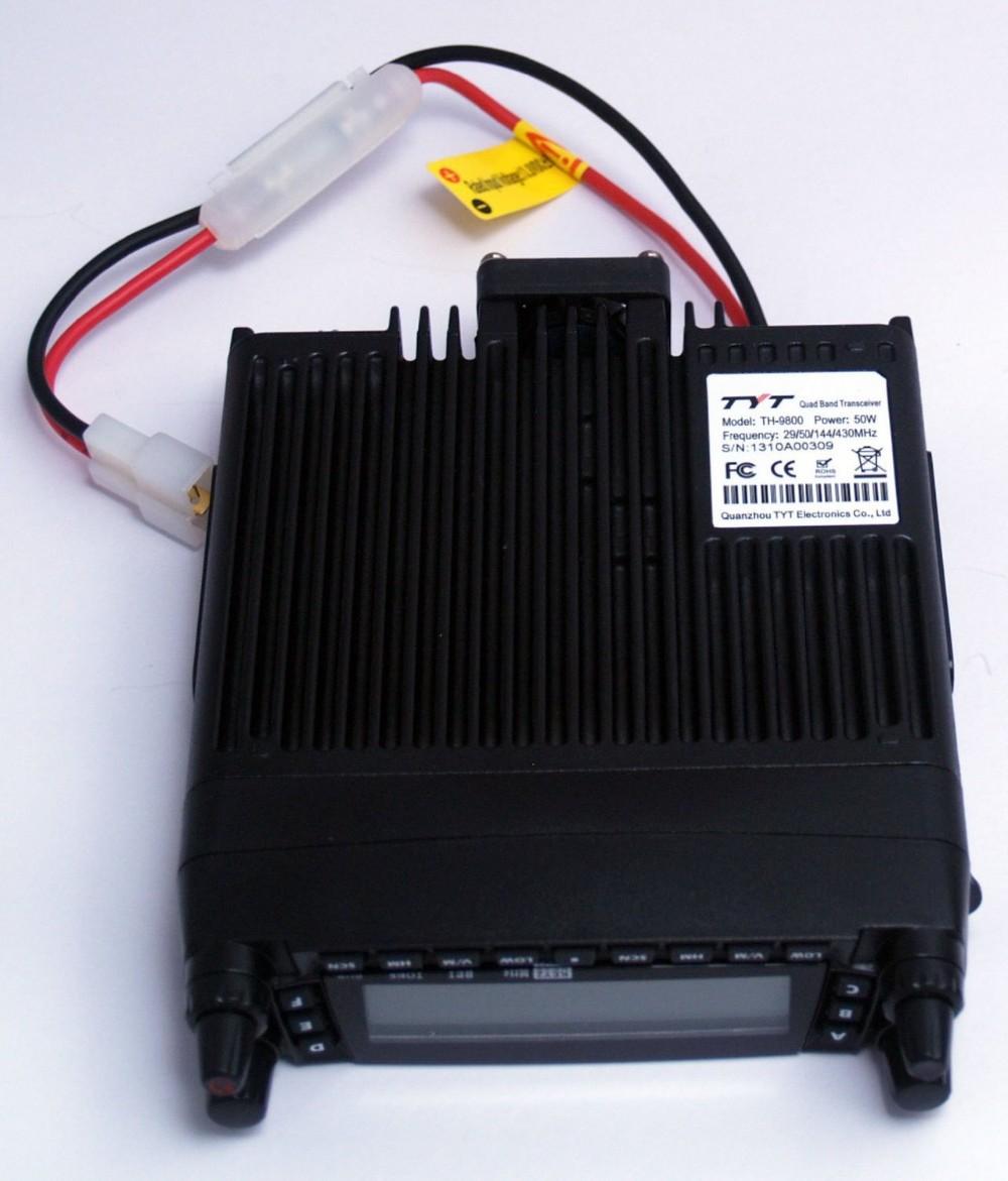 Tyt TH-9800 профессионального автомобильного радиостанции квад-мобильный радио автомобиля портативной рации