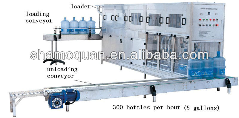 Automatic 400B/H Water Filling Machine for 5Gallon