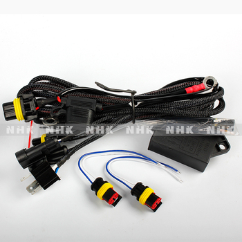 Nhk H4 Big Waterproof Relay Harness Wire Fits To All Hid Xenon Bulb H Hid Wiring Harness on