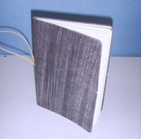 fancy eco custom fabric cover notebook printing