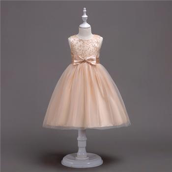 Child Girl Dress Evening For Kids Simple Bride Wedding Cheap