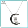 China Wholesale Moon and Owl Pendant Necklace