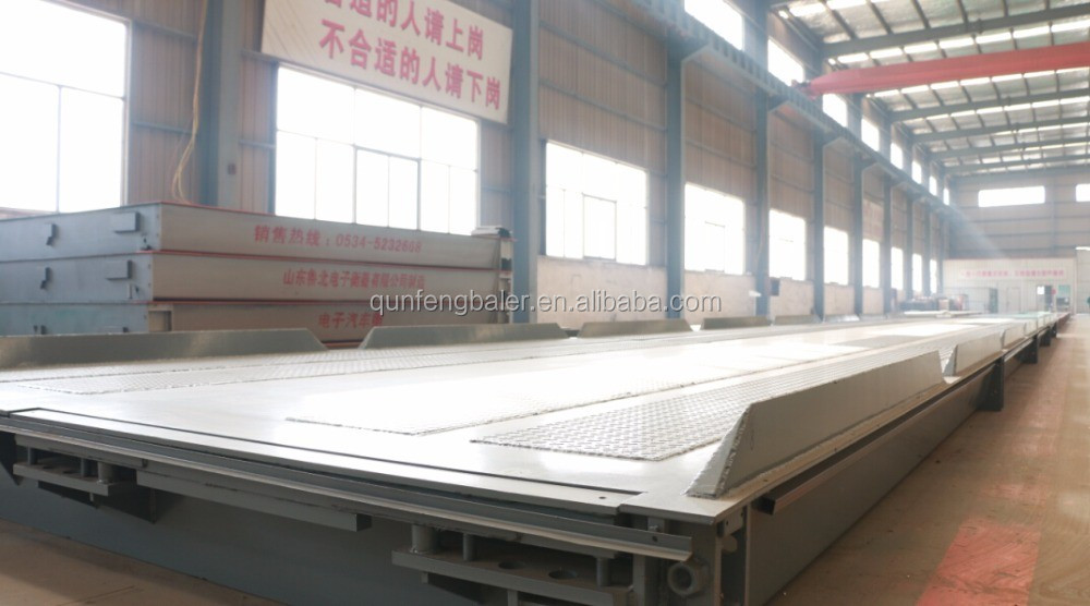 Heavy duty weighbridge price for industry use truck scale in hot sale