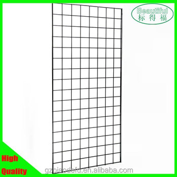 Mesh Display Panel,Gridwall Panels,Metal Wire Gridwall Panel - Buy ...