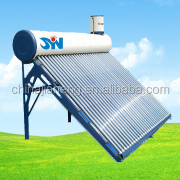 compact non pressurized vacuum tube solar water heater 100 liter solar air heating