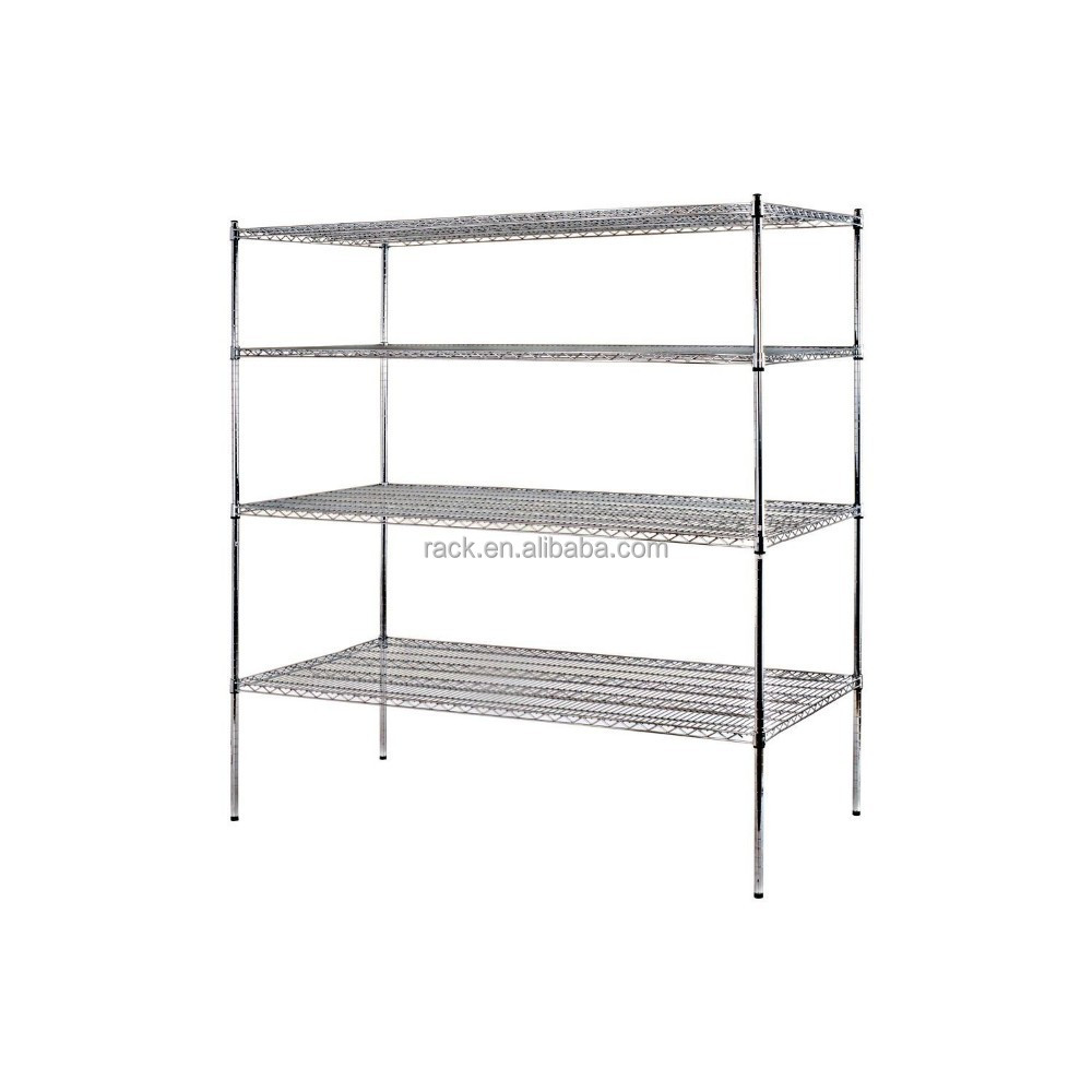 Double-sided and Corrosion Protection Feature Long Span Shelf with NSF Certified