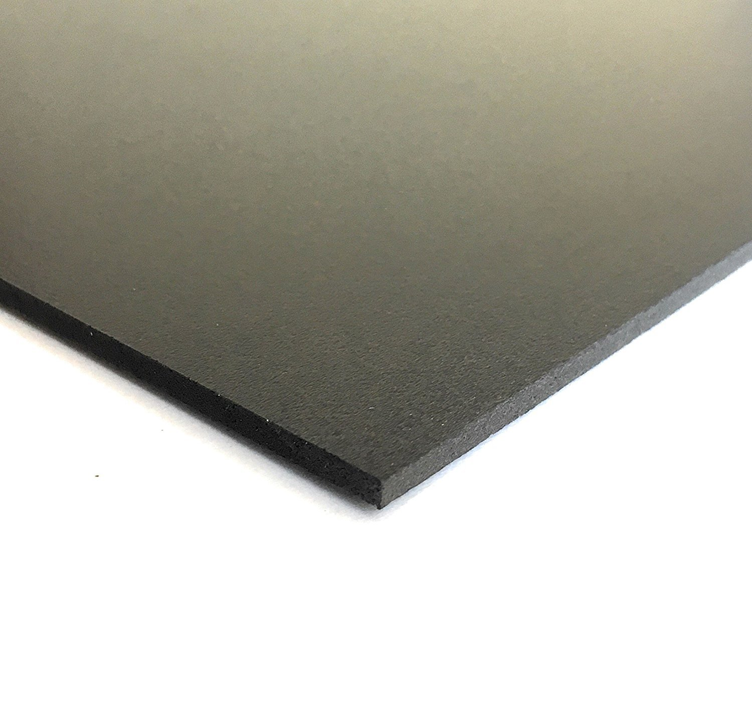 Expanded PVC Sheet – Lightweight Rigid Foam – 6mm (1/4Inch) – 12 x 12 Inches – Black – Ideal for Signage, Displays, and Digital/Screen Printing