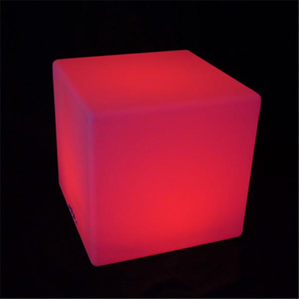 Changeant De Couleur Cube Lumineux Led Chaise De Bar Pas