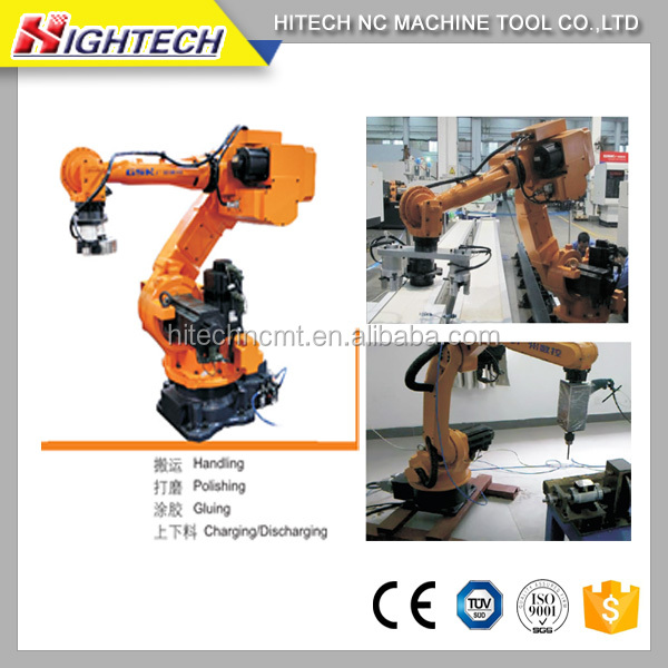 Robot manipulator- mechanical robotic arm machine hand