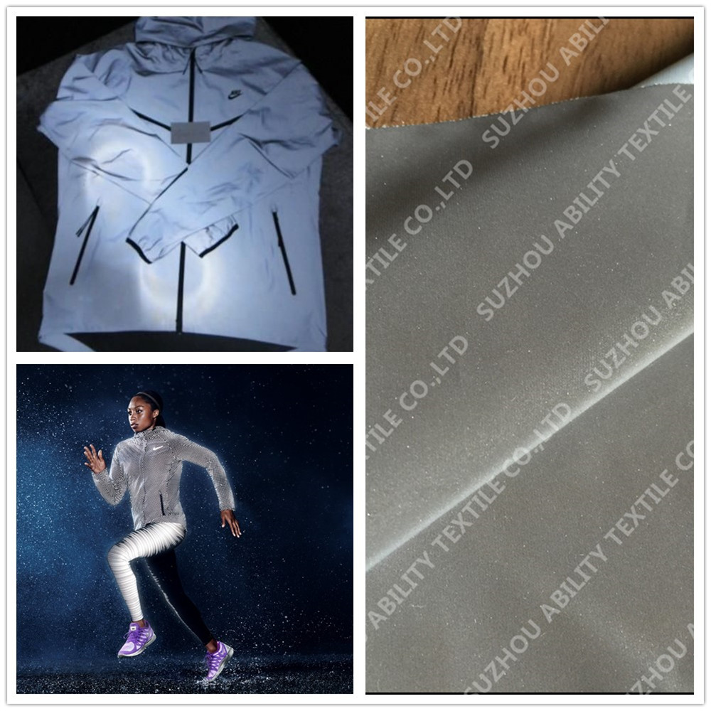 High Light PU Reflective Fabric